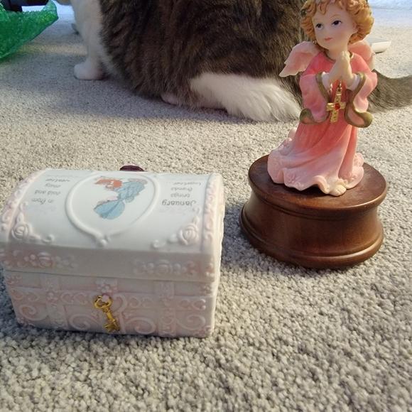 January Jewery Box and Figurine